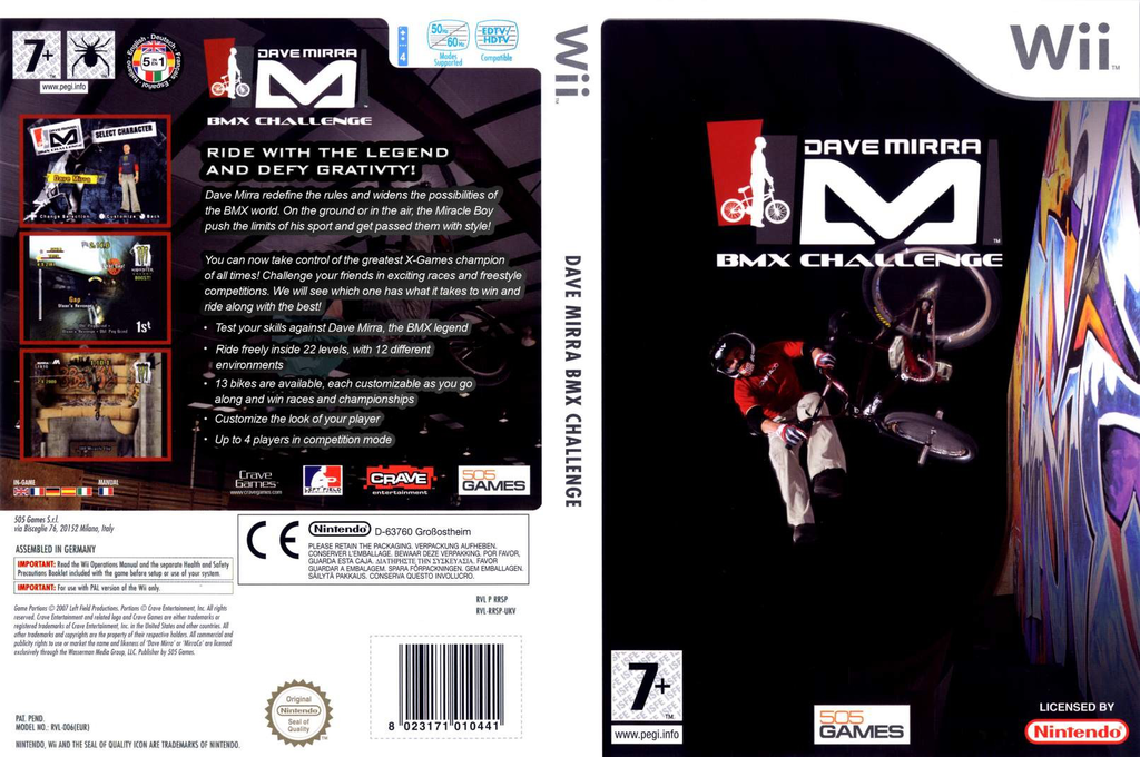 Dave Mirra BMX Challenge Wii coverfullHQ (RXCPGT)