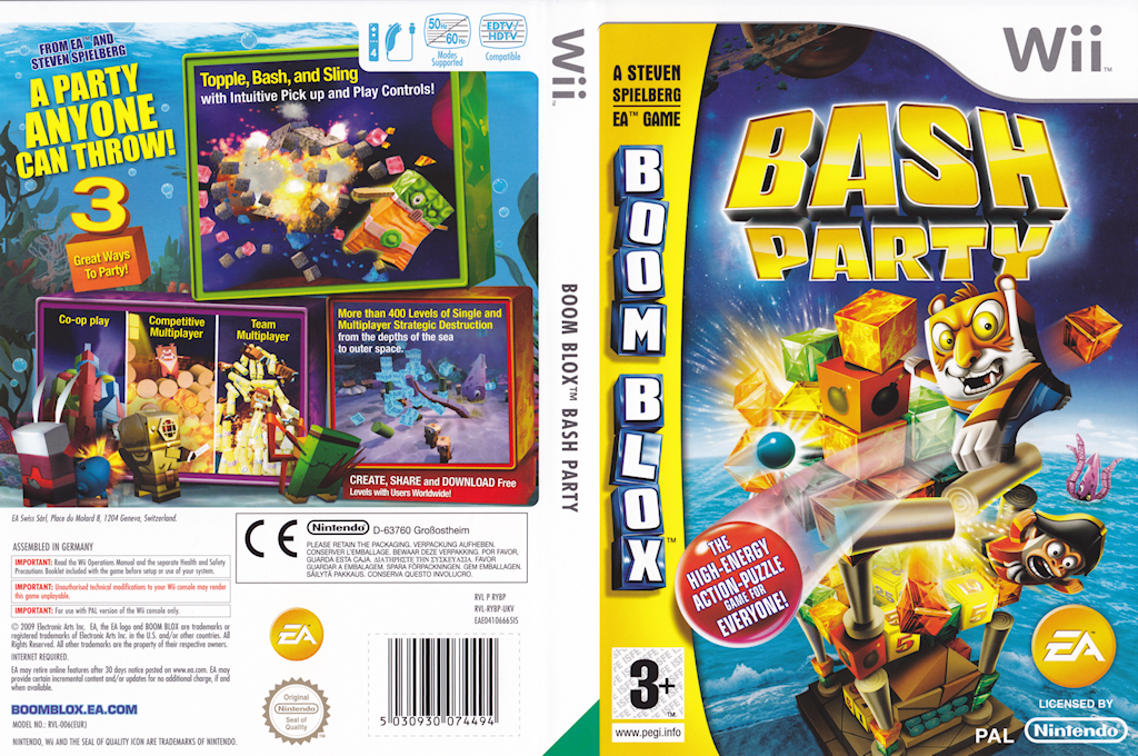Boom Blox: Bash Party Wii coverfullHQ (RYBP69)