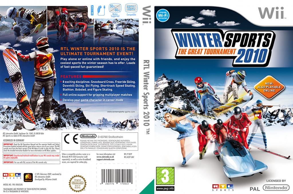 Winter Sports 2010: The Great Tournament Wii coverfullHQ (RZIPRT)