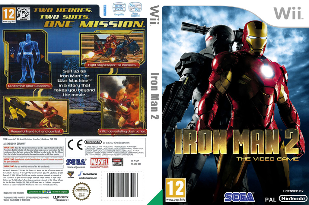 Iron Man 2 Wii coverfullHQ (S2IP8P)