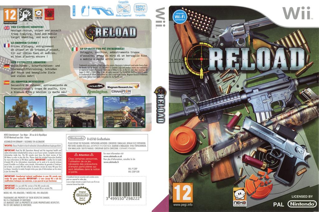 Reload Wii coverfullHQ (S2RPNK)