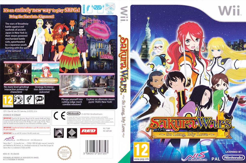 Sakura Wars: So Long, My Love Wii coverfullHQ (SAKPNS)
