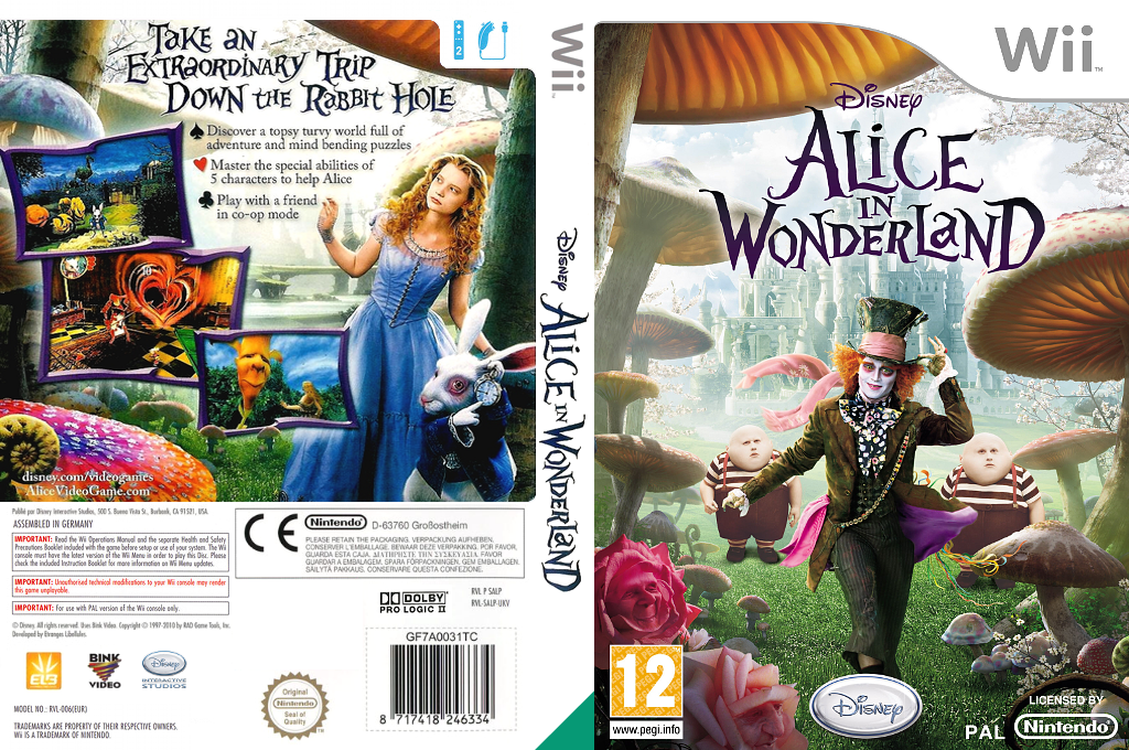 Alice in Wonderland Wii coverfullHQ (SALP4Q)