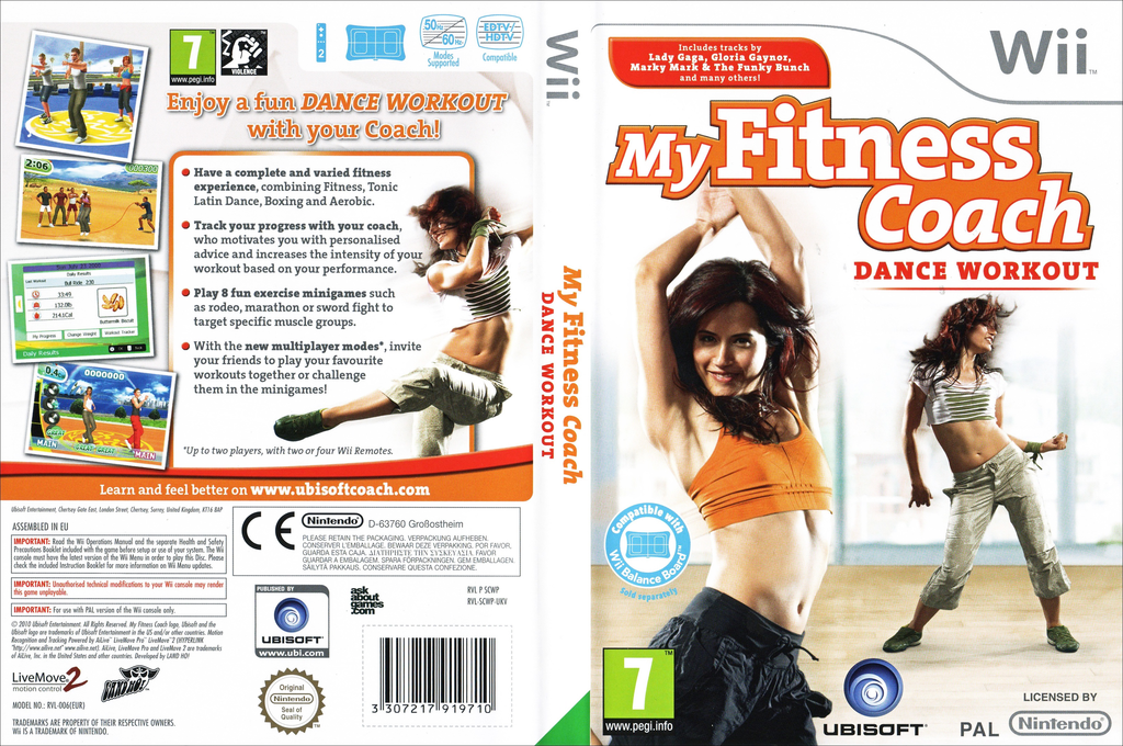 My Fitness Coach: Dance Workout Wii coverfullHQ (SCWP41)