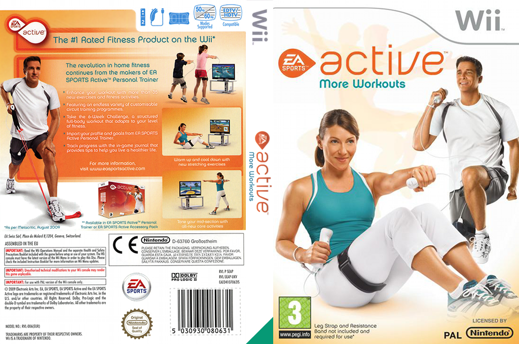 EA Sports Active: More Workouts Wii coverfullHQ (SEAP69)