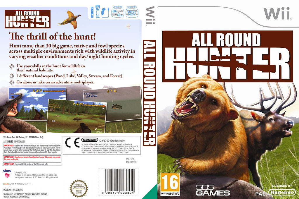 All Round Hunter Wii coverfullHQ (SFSPGT)