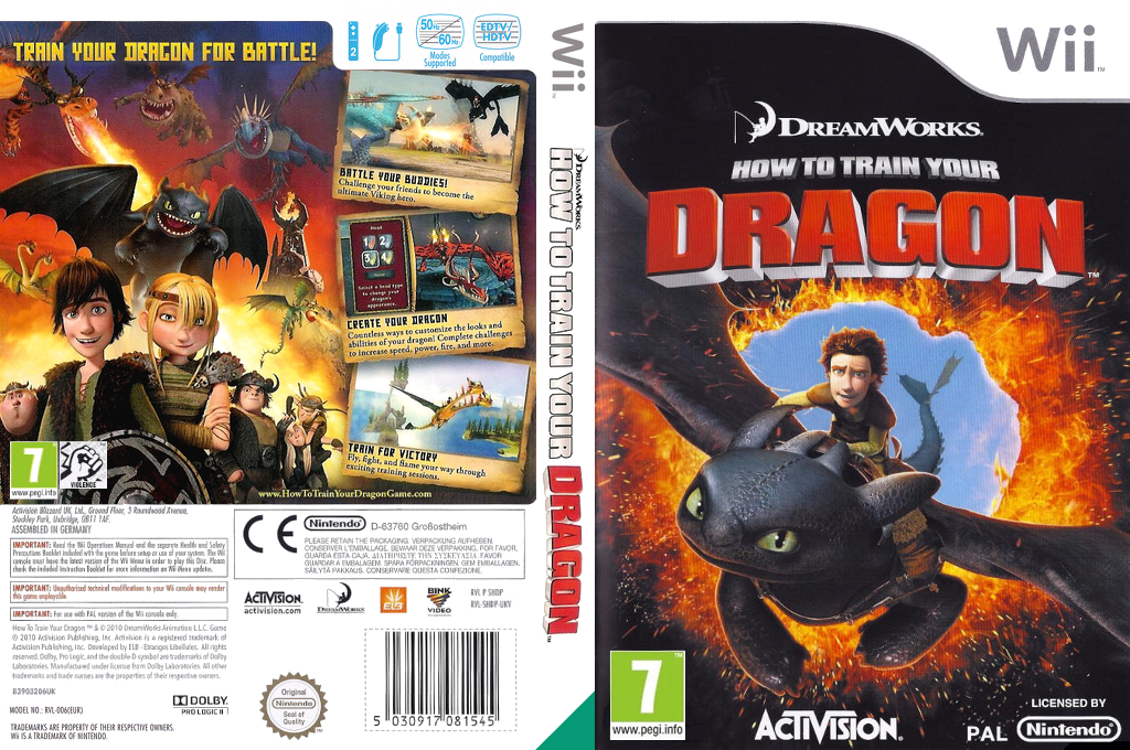 How to Train Your Dragon Wii coverfullHQ (SHDP52)