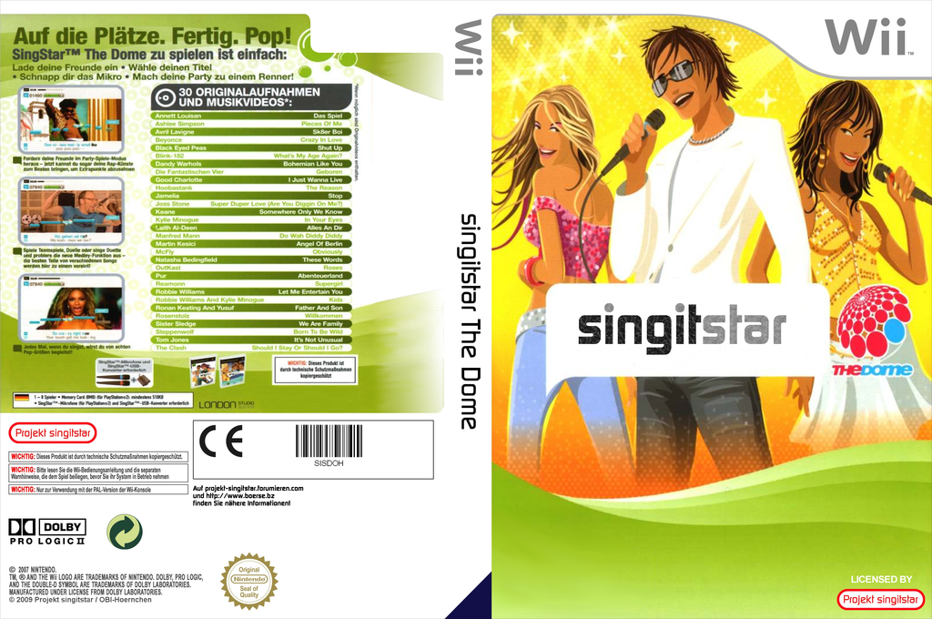 SingItStar The Dome Wii coverfullHQ (SISDOH)
