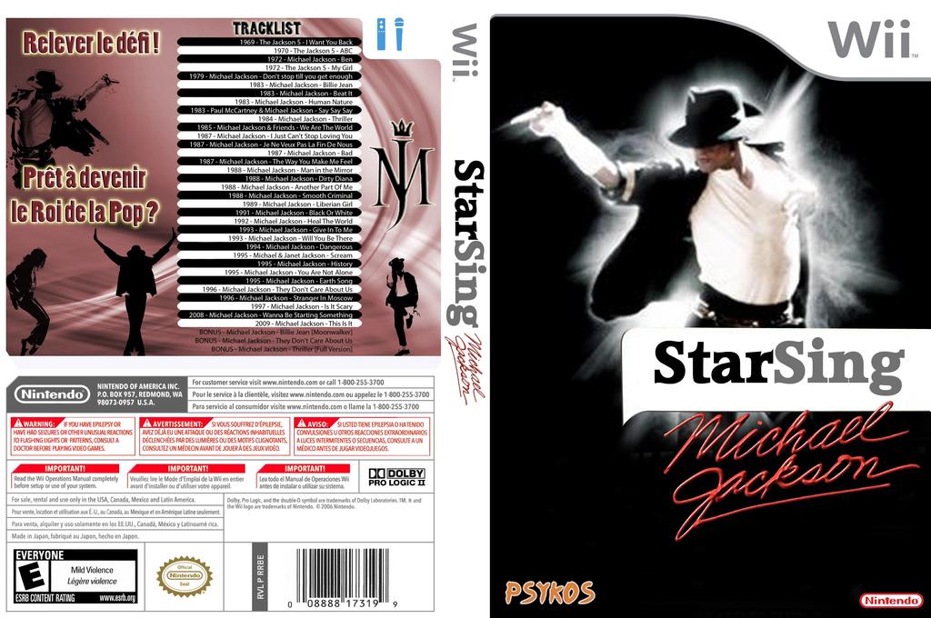 StarSing : Michael Jackson v2.1 Wii coverfullHQ (SISMJ1)