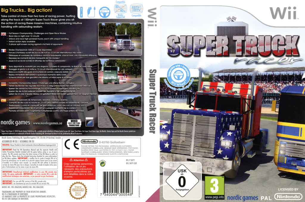 Super Truck Racer Wii coverfullHQ (SN7PNG)