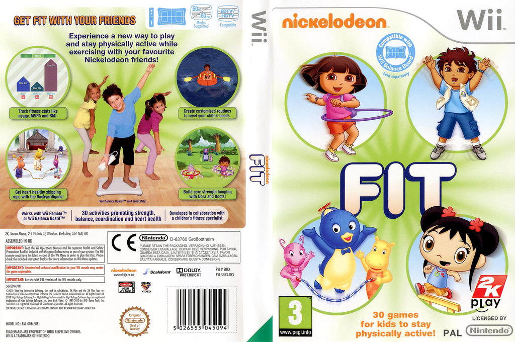 Nickelodeon Fit Wii coverfullHQ (SNKX54)
