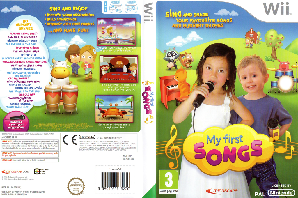My First Songs Wii coverfullHQ (SONPMR)