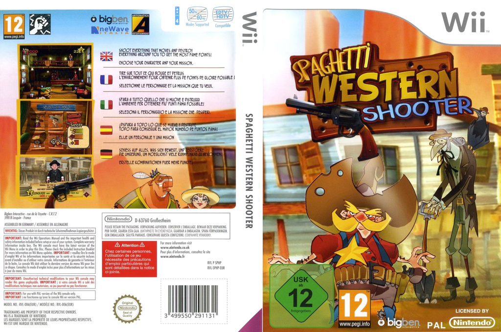 Spaghetti Western Shooter Wii coverfullHQ (SPHPJW)