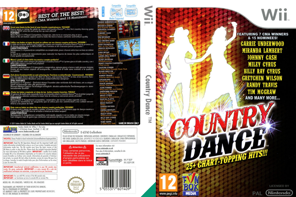 Country Dance Wii coverfullHQ (SQ2PXT)