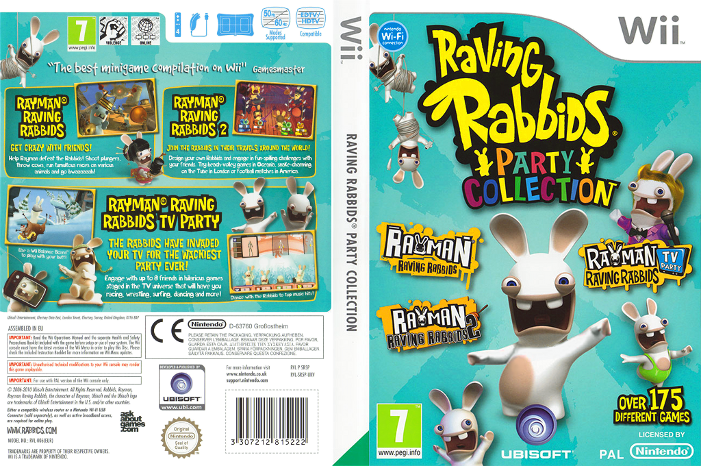 Raving Rabbids Party Collection Array coverfullHQ (SR5P41)