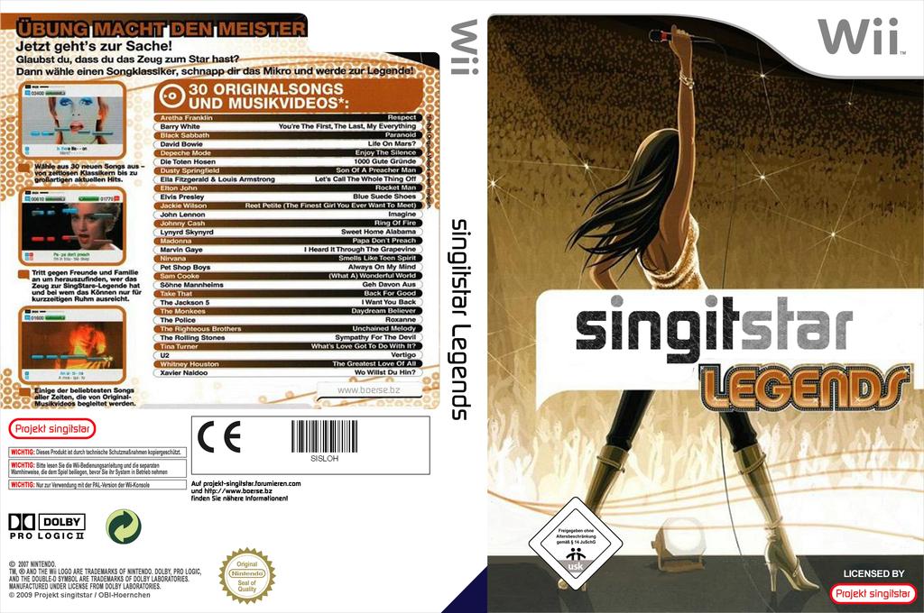 SingItStar Legends Wii coverfullHQ (SSLPOH)