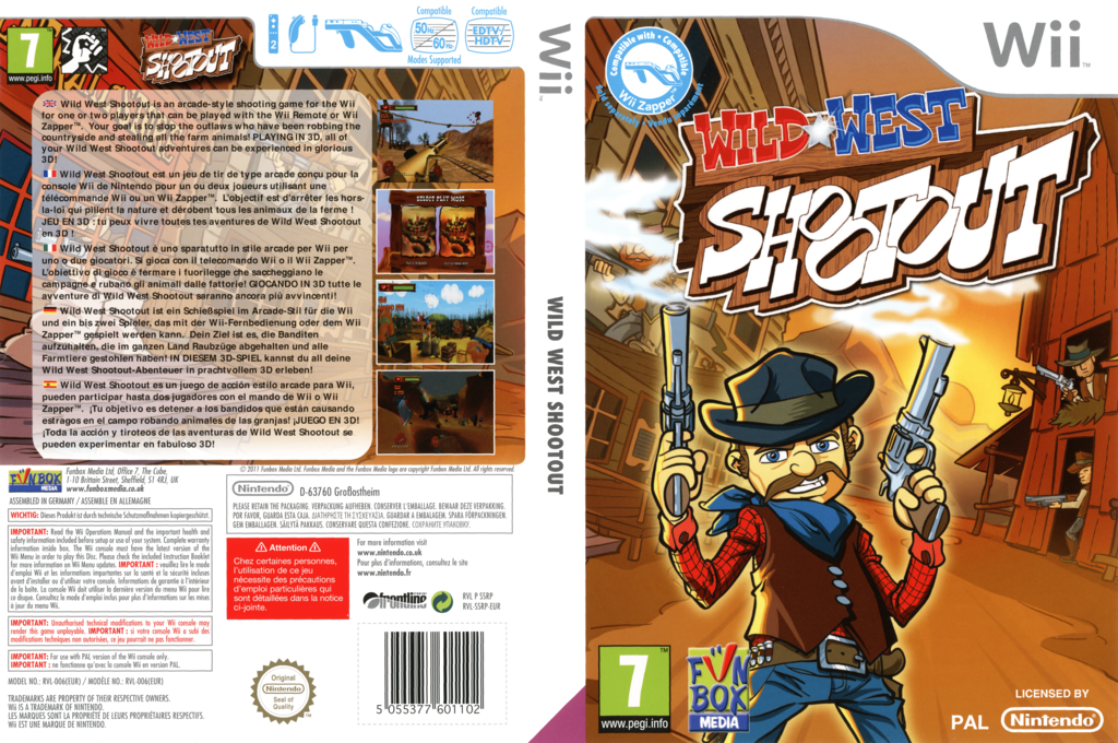 Wild West Shootout Wii coverfullHQ (SSRPXT)