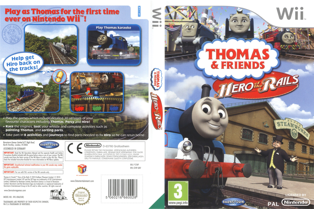 Thomas & Friends: Hero of the Rails Wii coverfullHQ (ST4PNX)