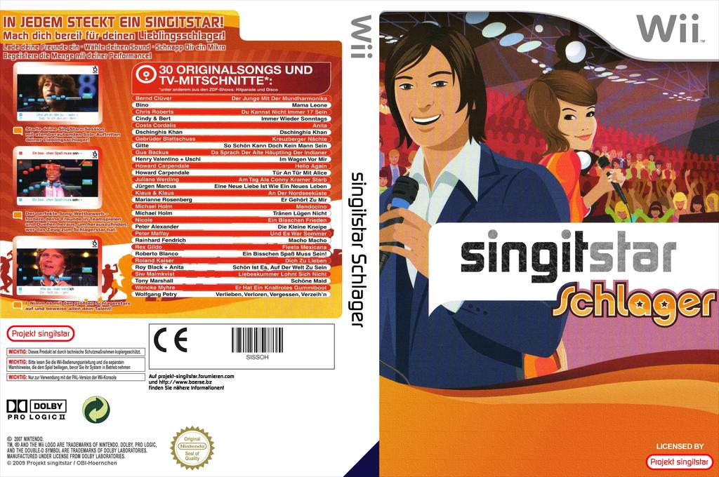 SingItStar Schlager Wii coverfullHQ (STSP75)