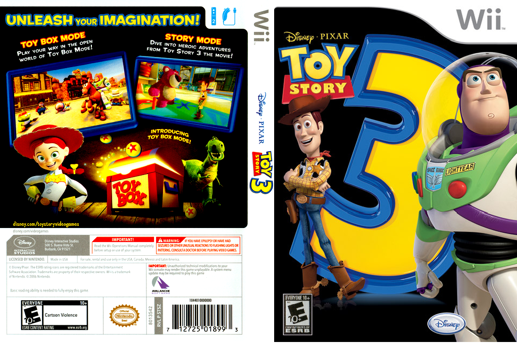 Toy Story 3: Toy Box Special Edition Wii coverfullHQ (STSZ4Q)
