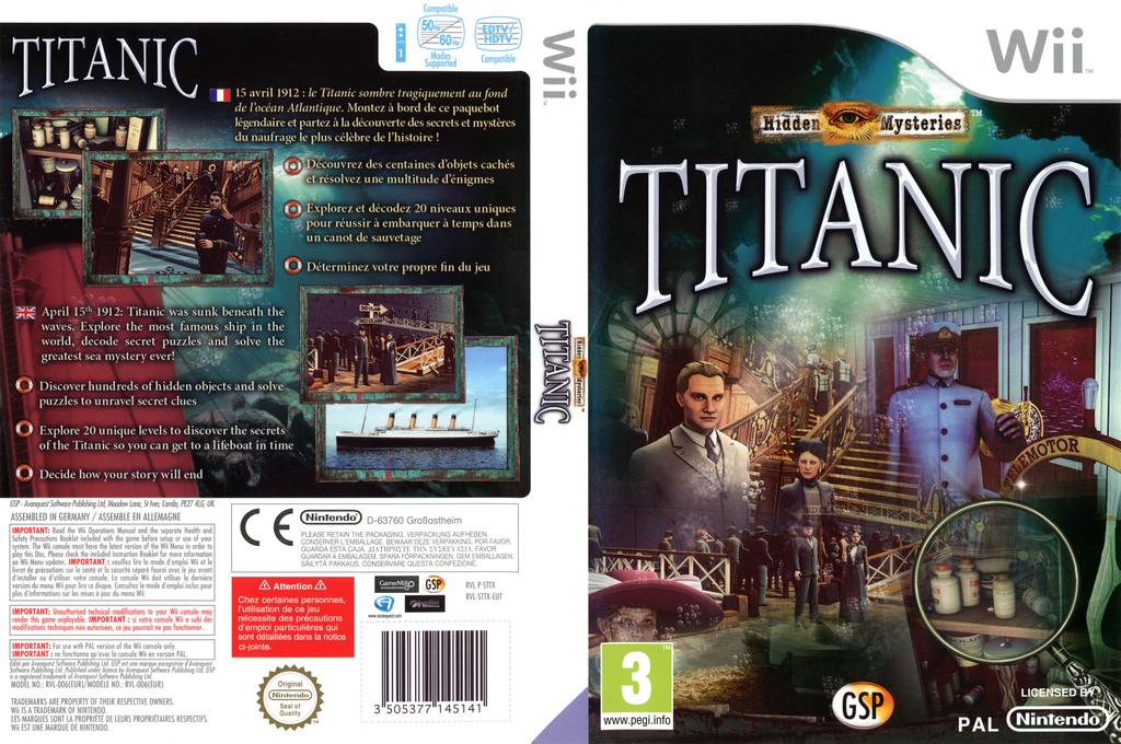 Hidden Mysteries:Titanic Wii coverfullHQ (STTXGR)