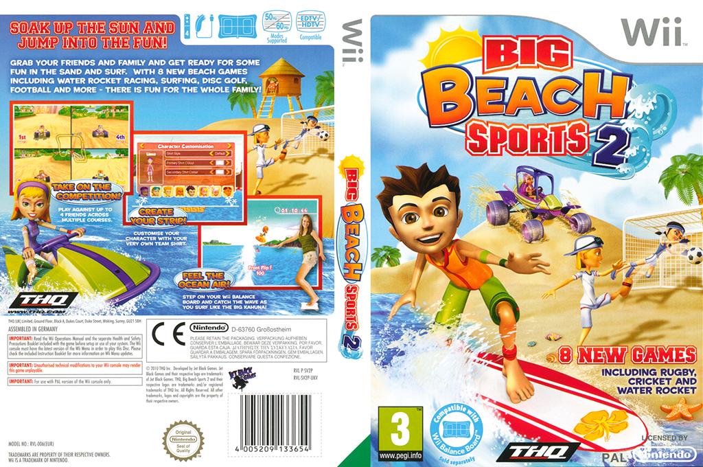 Big Beach Sports 2 Wii coverfullHQ (SV2P78)