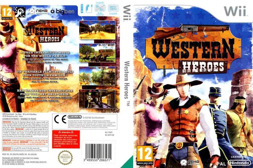 Western Heroes Wii coverfullHQ (SW7PNK)