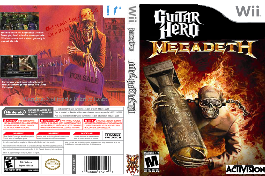 Guitar Hero III Custom:Megadeth Wii coverfullHQ (SXEF52)