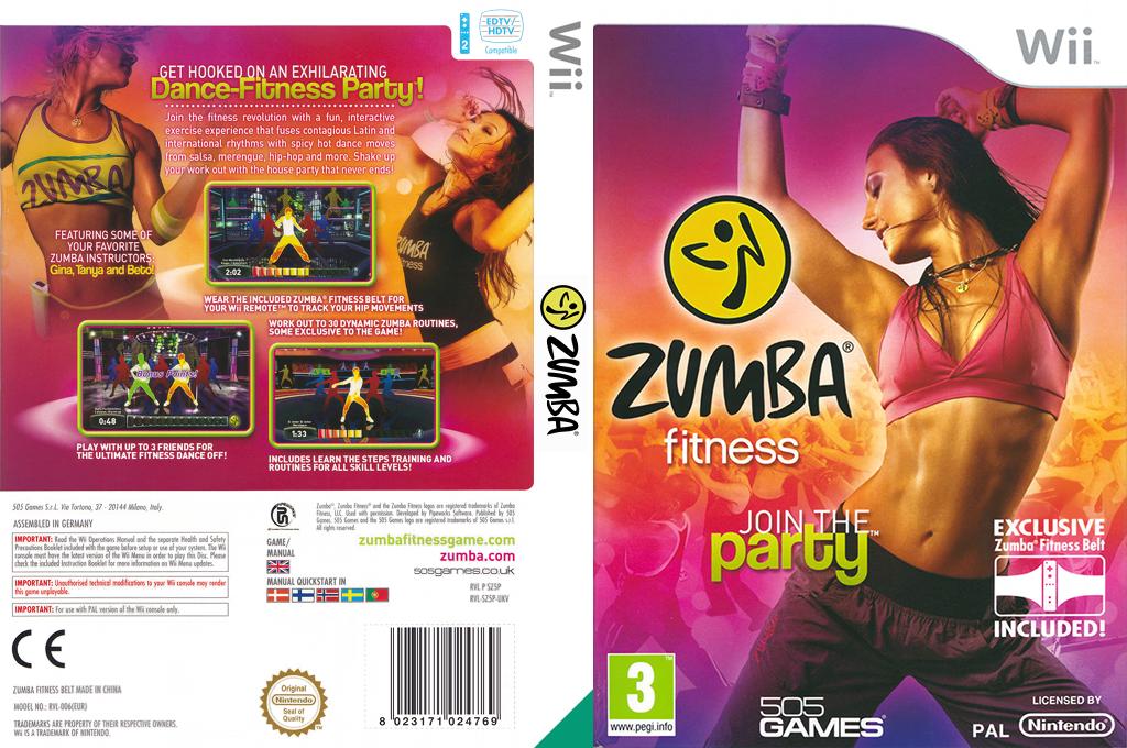 Zumba Fitness Wii coverfullHQ (SZ5PGT)