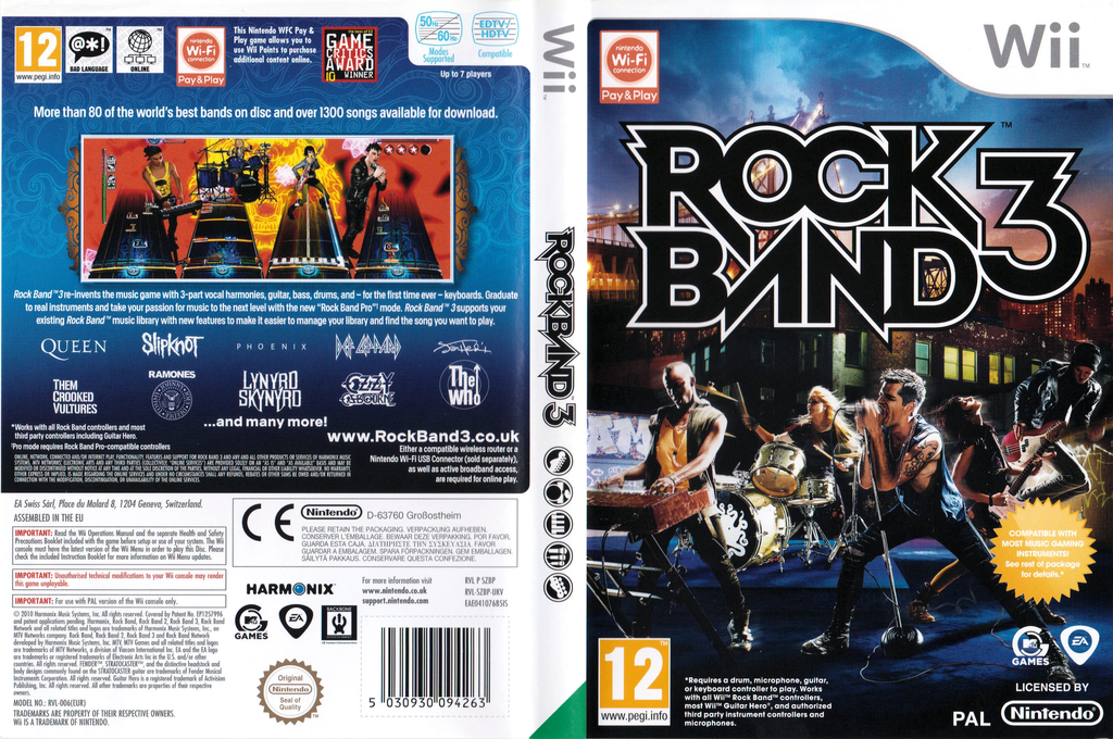 Rock Band 3 Wii coverfullHQ (SZBP69)