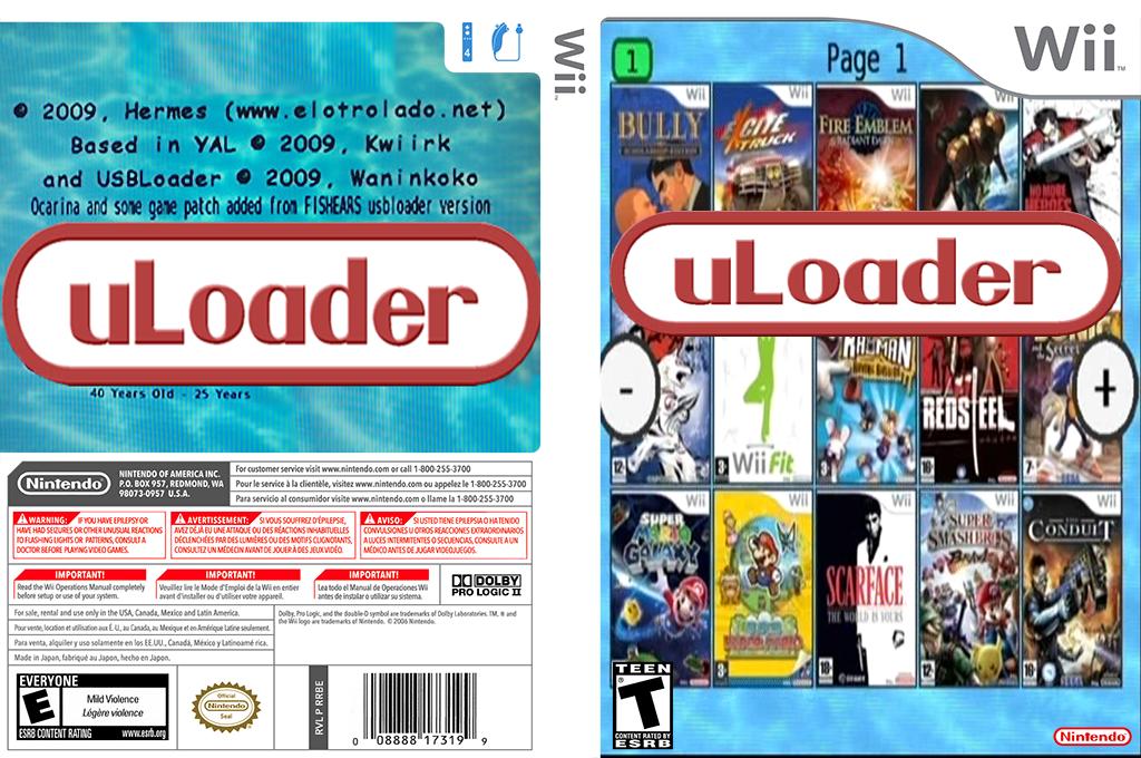 uLoader Array coverfullHQ (ULFW)