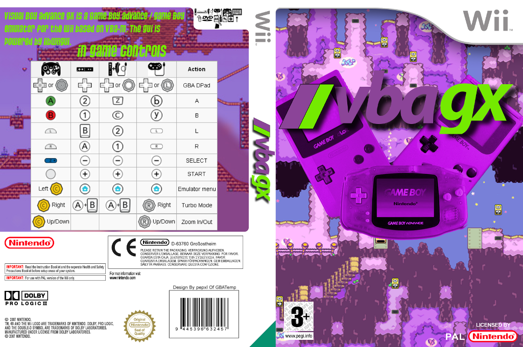Visual Boy Advance GX Array coverfullHQ (VBGX)