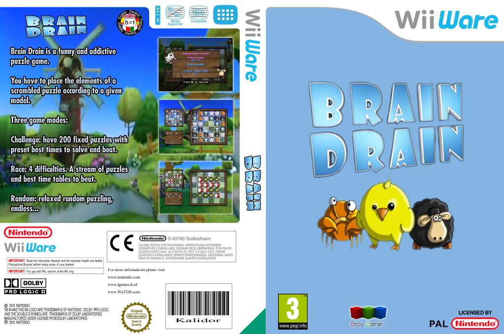 Brain Drain Wii coverfullHQ (WBDP)
