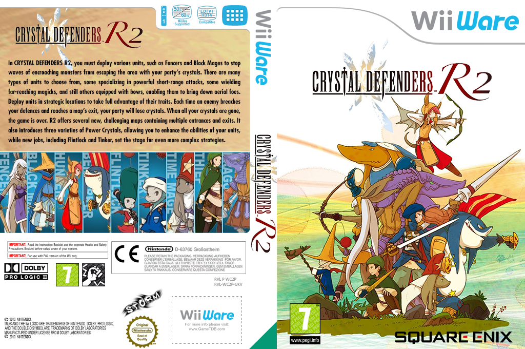 Crystal Defenders R2 Wii coverfullHQ (WC2P)