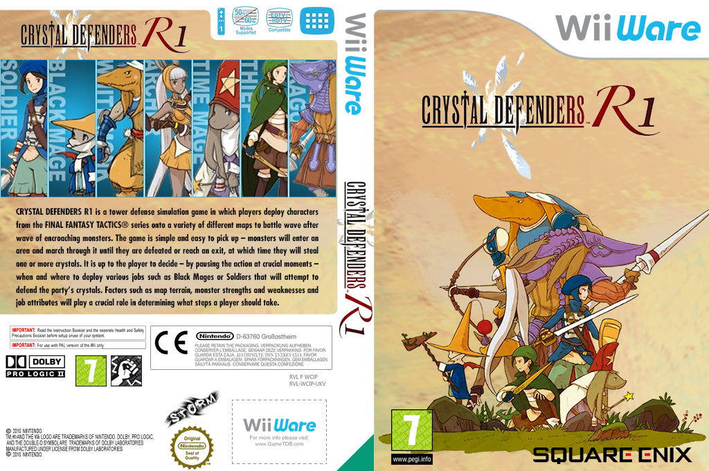 Crystal Defenders R1 Wii coverfullHQ (WCIP)