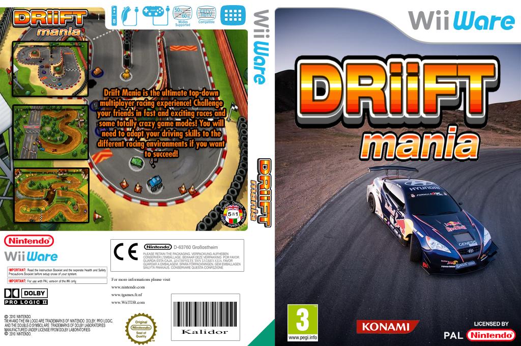Driift Mania Wii coverfullHQ (WDOP)