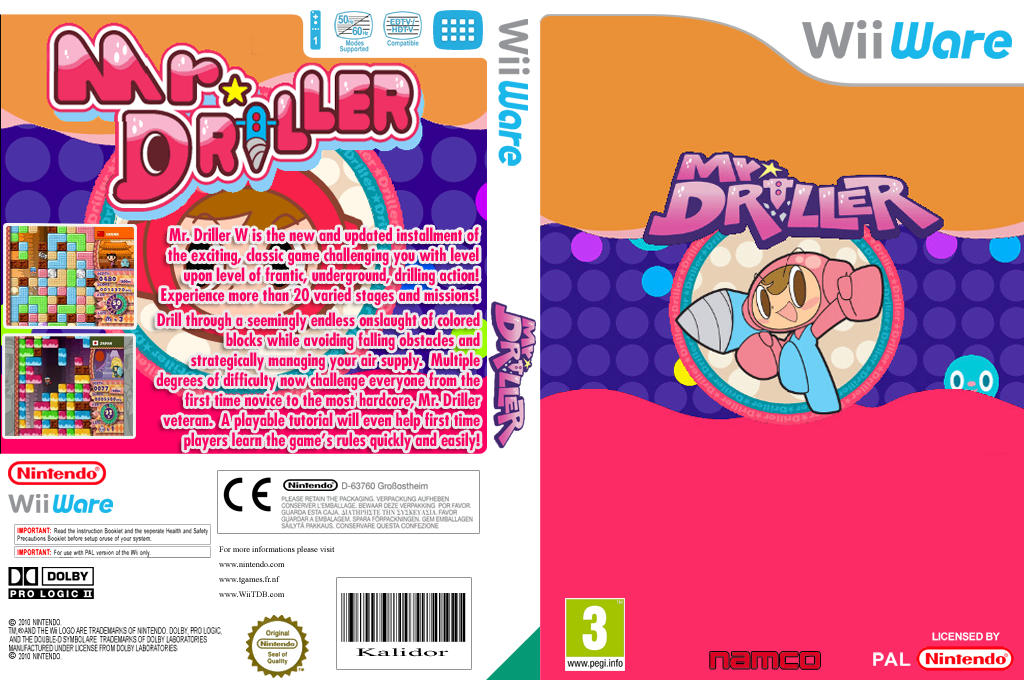 Mr. Driller W Wii coverfullHQ (WDRP)