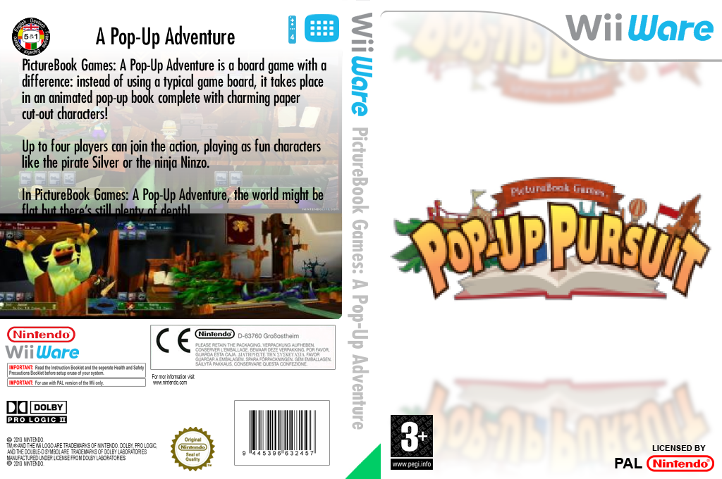 PictureBook Games: A Pop-Up Adventure Wii coverfullHQ (WETP)