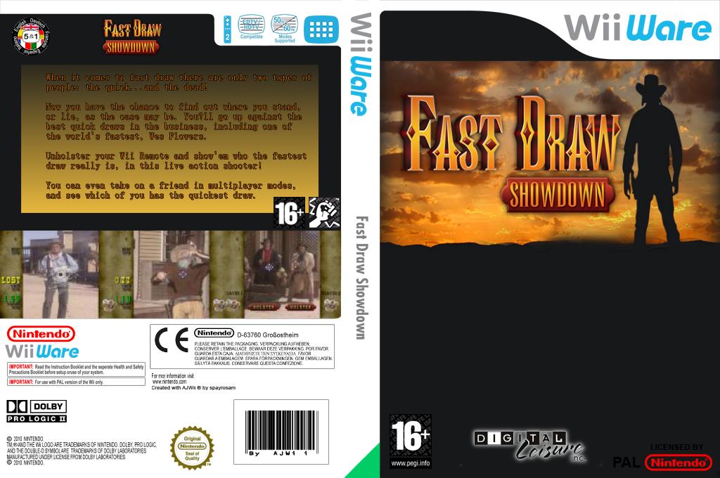 Fast Draw Showdown Array coverfullHQ (WFAP)