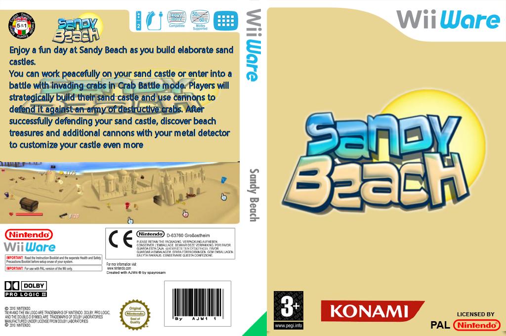 Sandy Beach Wii coverfullHQ (WFBP)