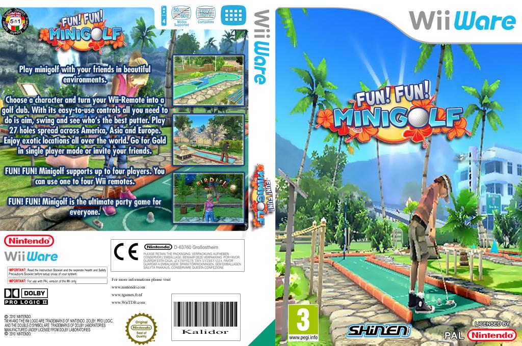 Fun! Fun! Minigolf Wii coverfullHQ (WFFP)