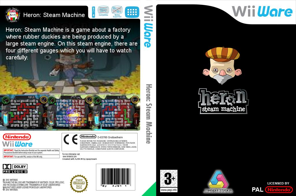 Heron: Steam Machine Wii coverfullHQ (WHRP)
