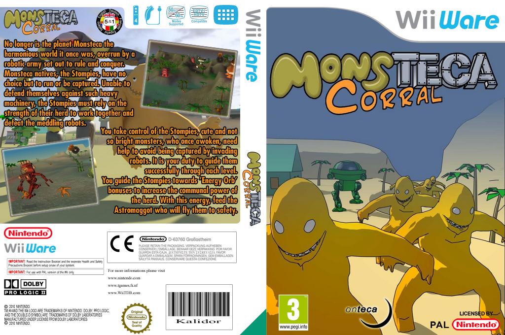 Monsteca Corral: Monsters Vs. Robots Wii coverfullHQ (WMCP)