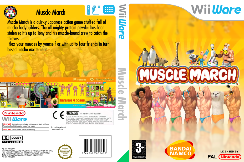 Muscle March Wii coverfullHQ (WMMP)
