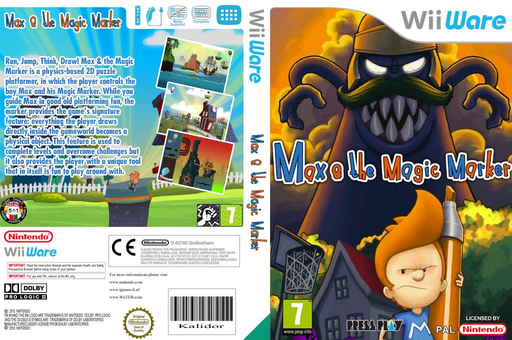Max & the Magic Marker Wii coverfullHQ (WMXP)