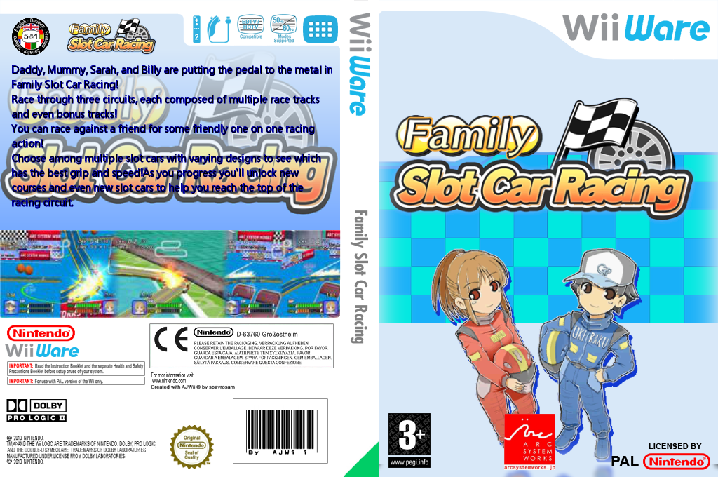 Family Slot Car Racing Wii coverfullHQ (WOSP)