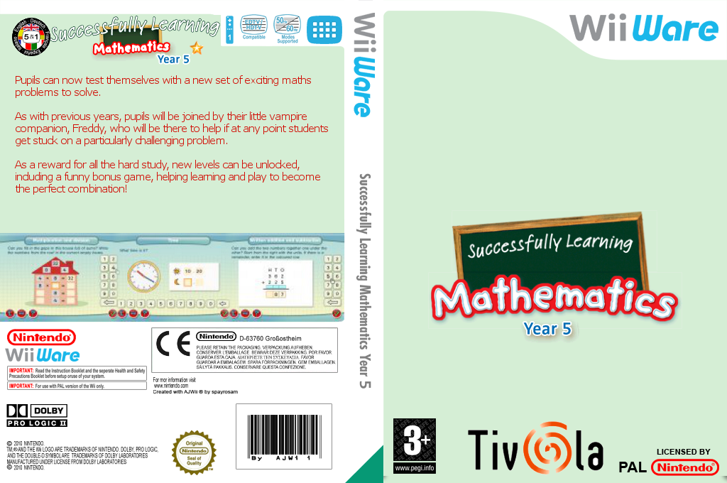 Successfully Learning Mathematics Year 5 Wii coverfullHQ (WU4P)