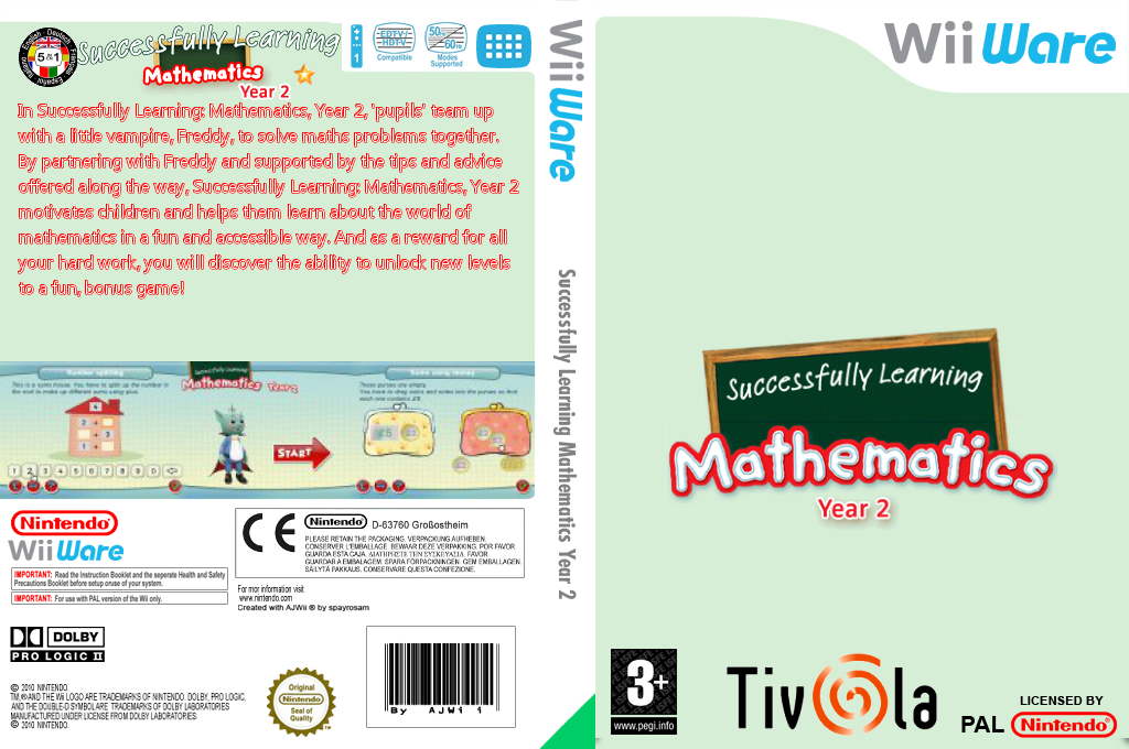 Successfully Learning Mathematics Year 2 Array coverfullHQ (WUIP)