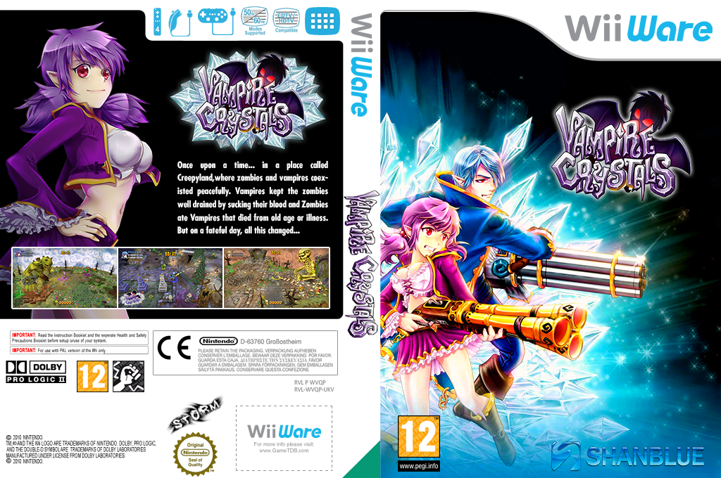 Vampire Crystals Wii coverfullHQ (WVQP)