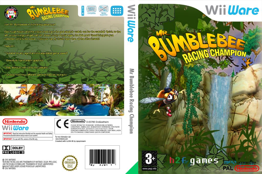 Mr Bumblebee Racing Champion Wii coverfullHQ (WVUP)